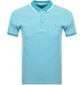 Product Image for Farah Vintage Basel Polo T Shirt Blue